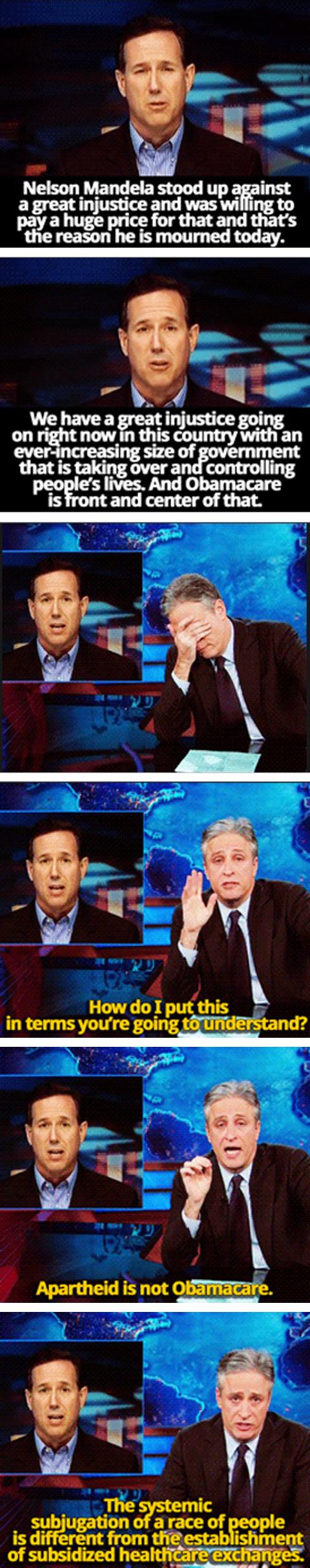 Jon Stewart facepalm…