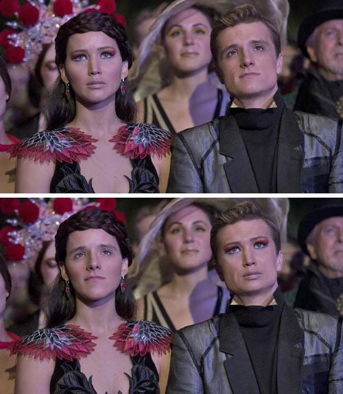 Katniss/Peeta Faceswap…