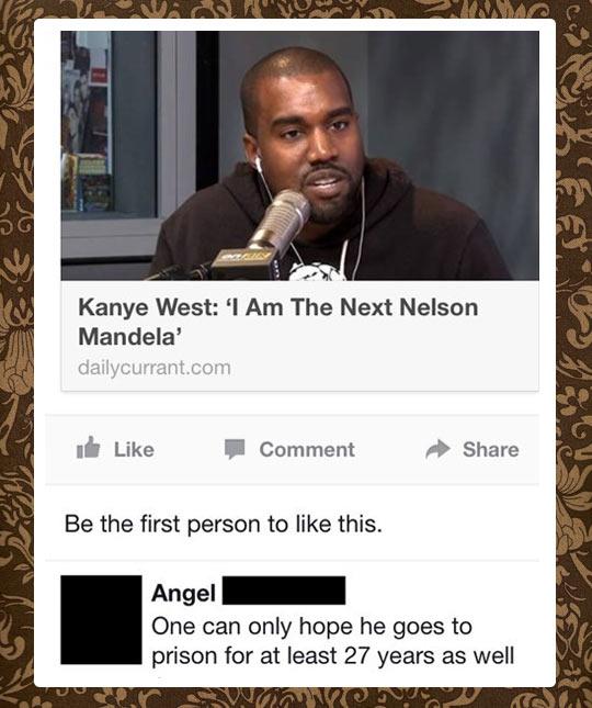 Mandela's next top model…