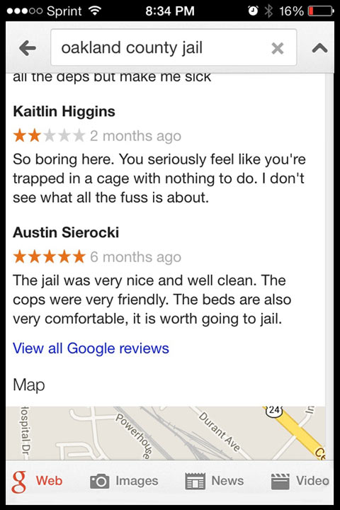 funny-Oakland-jail-reviews-map
