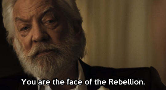Face of the rebellion...