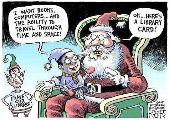 Santa is always prepared…