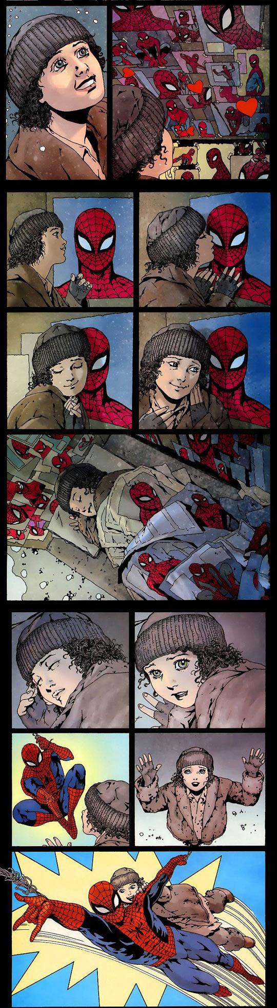 funny-Spiderman-homeless-girl-sick