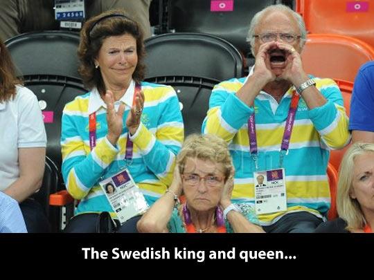 Swedish royalty…