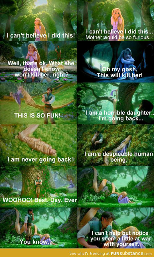 funny-Tangled-Rapunzel-forest-Flynn-feeling