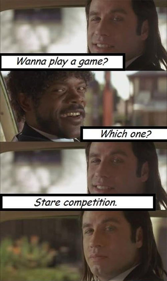 Pulp Fiction game...