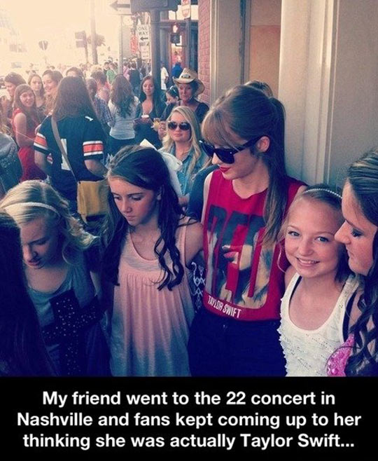Not Taylor Swift…