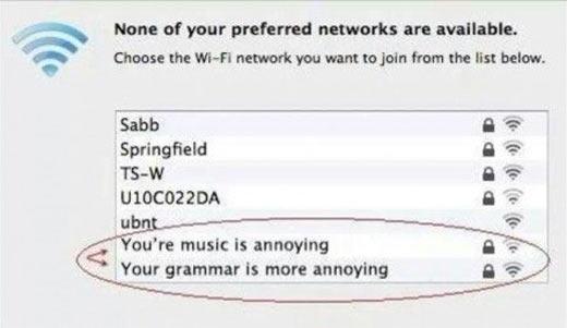 WiFi wars…