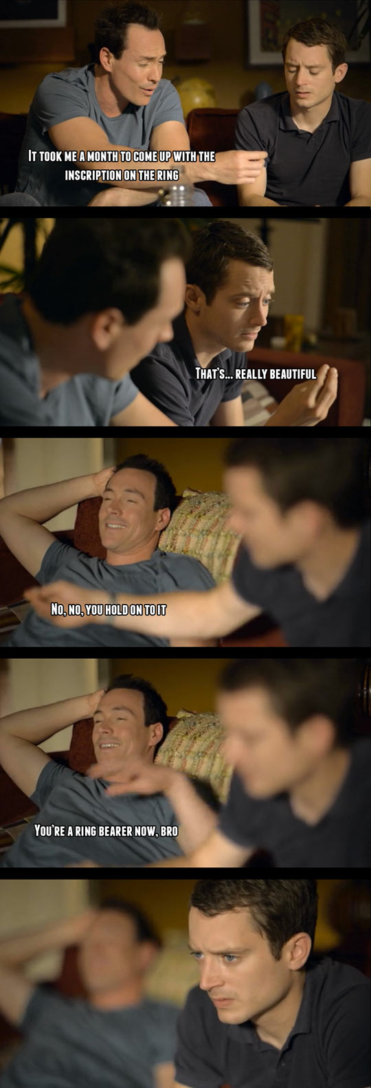 One of the funniest moments in this show…