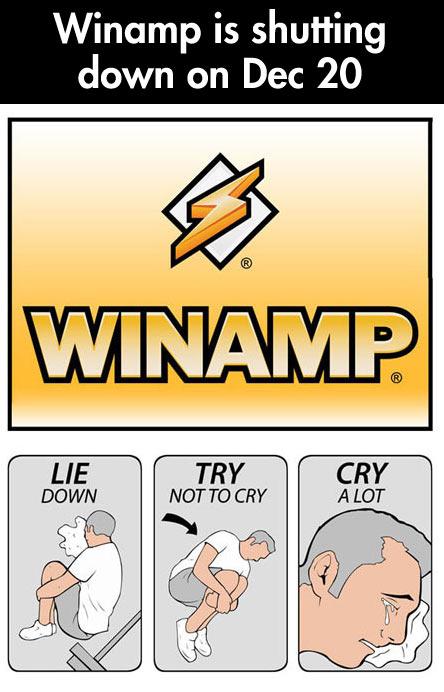 Goodbye Winamp…