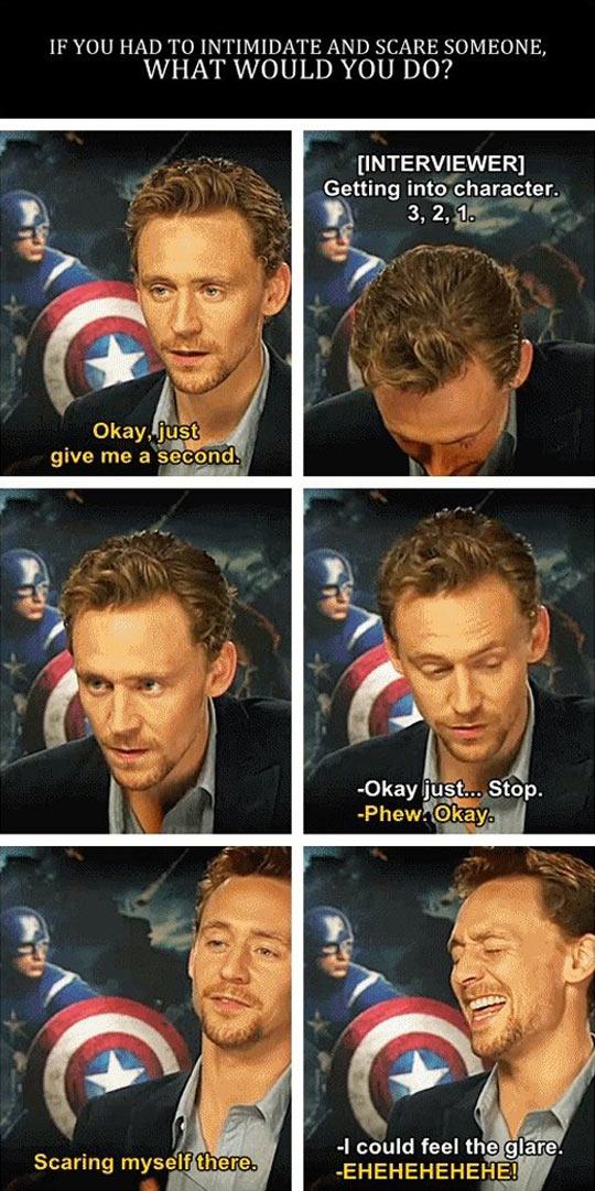 Tom is a dangerous man…