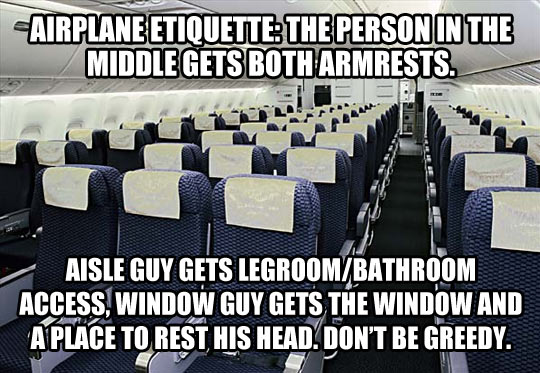 funny-airplane-etiquette-rules-armrest