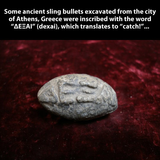 Ancient game…
