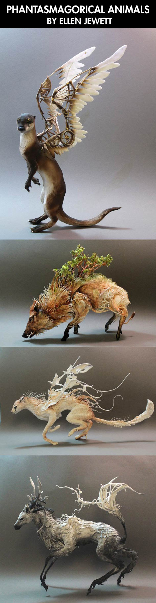funny-animals-wing-steampunk-sculpture