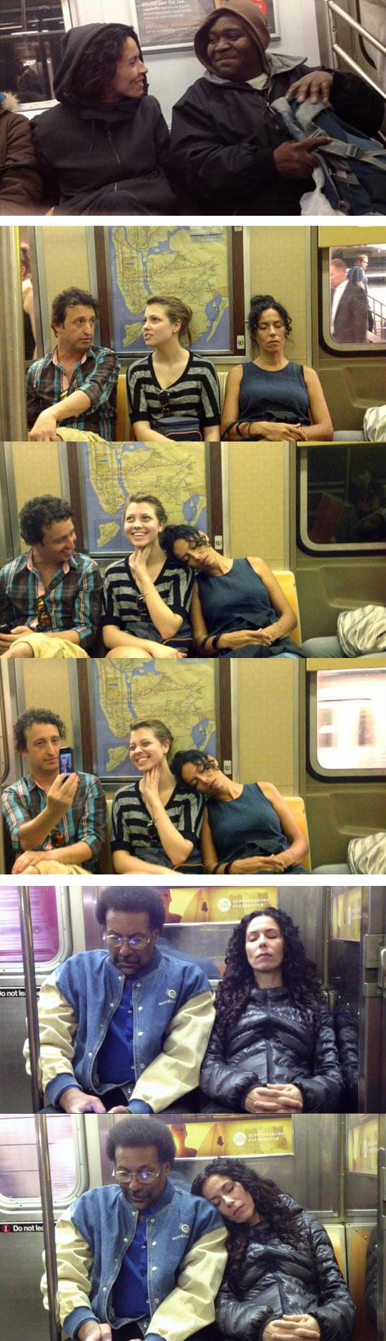 funny-artist-reaction-strangers-photo