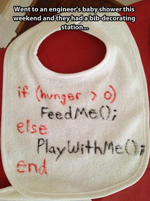 Baby markup language…