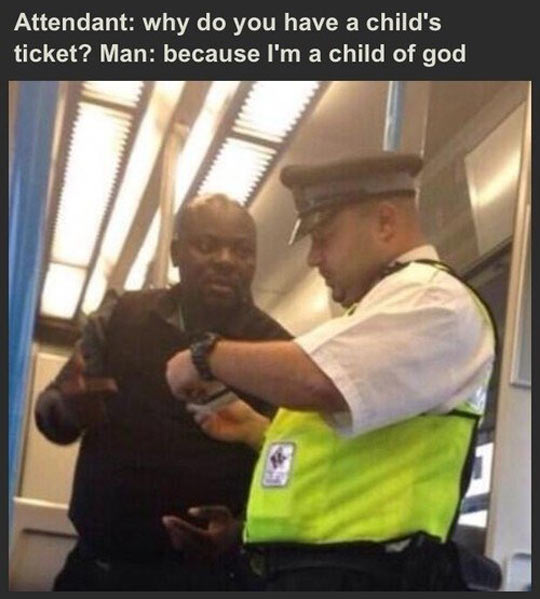 funny-black-man-police-England-subway