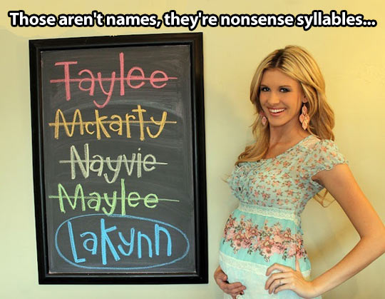 Nonsense names…
