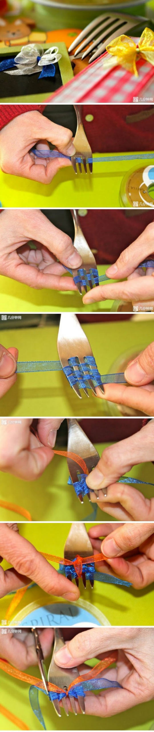 funny-bows-fork-silk-gift