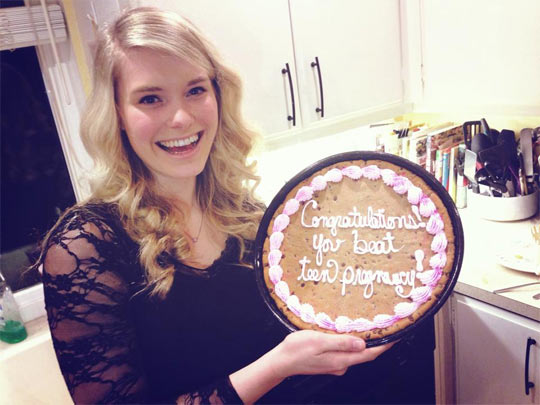 What's really important on your 20th birthday…