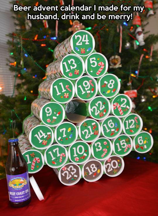 Beer calendar…