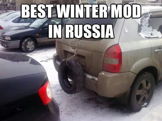 Russian winter car mod…