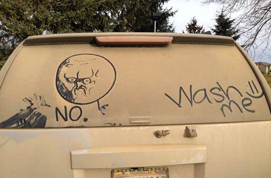 Wash my car? Nope.