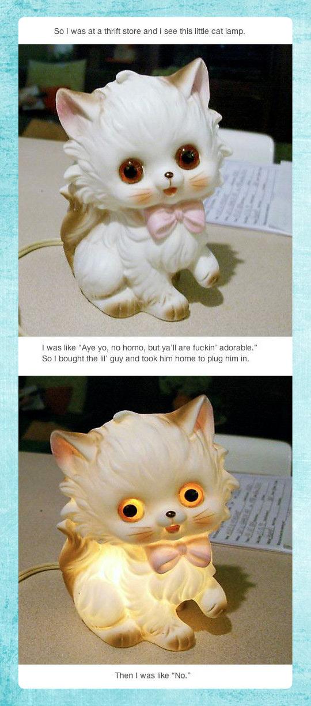 Demon kitty…