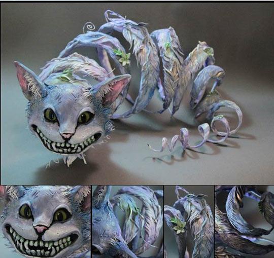 funny-cat-sculpture-Alicia-dream