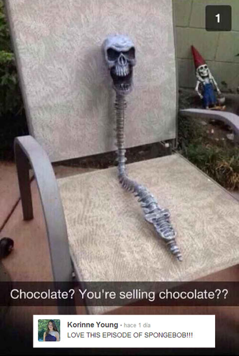 funny-chair-skull-dwarf-chocolate-garden