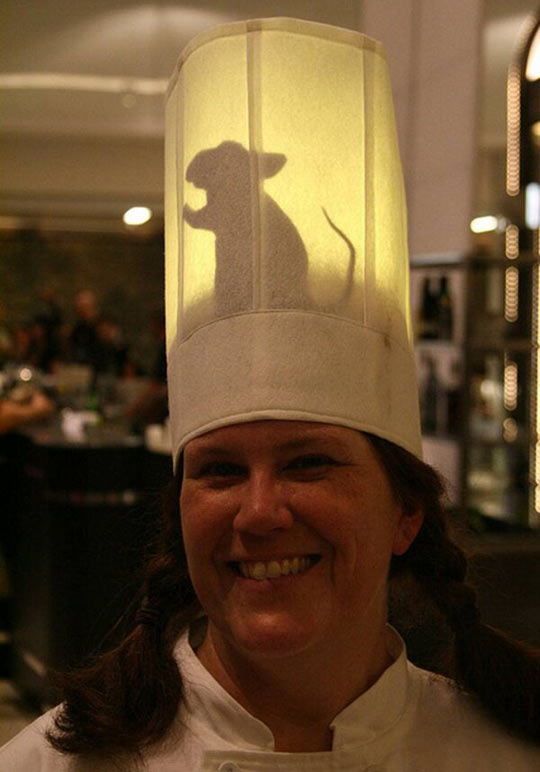 Ratatouille themed hat…