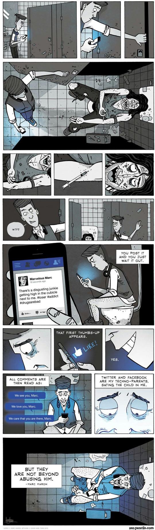 funny-comic-adults-phone-Internet-kid-screaming