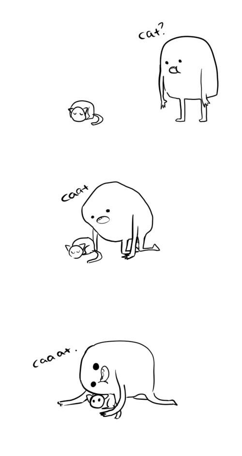 funny-comic-cat-hug-sleeping