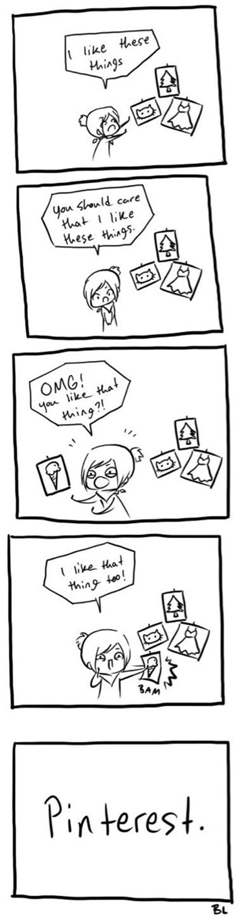 Explained Pinterest to my boyfriend…