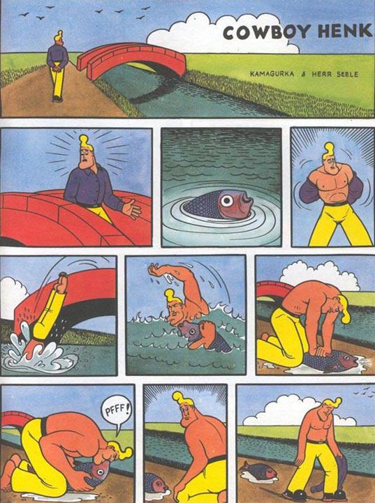 funny-cowboy-river-saving-fish-dead