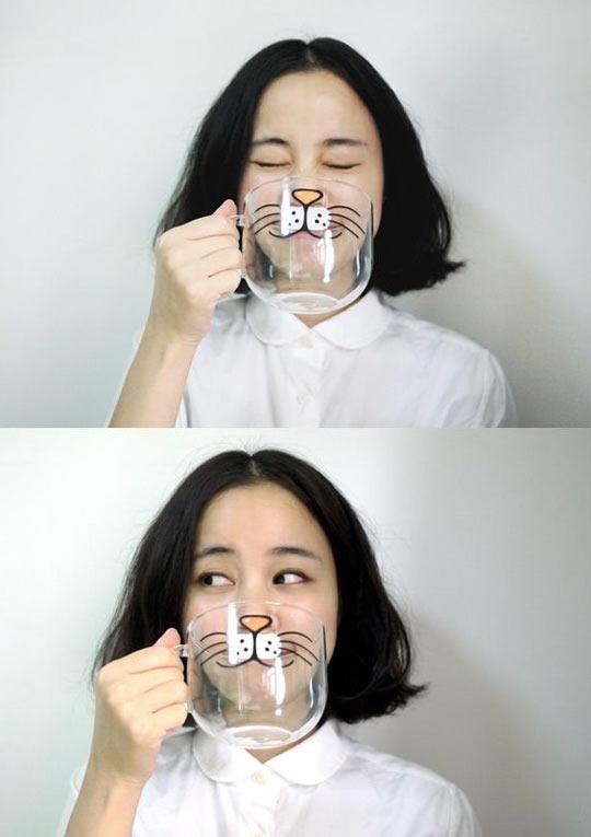Cat cup…