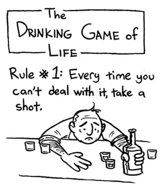 The drinking game of life…