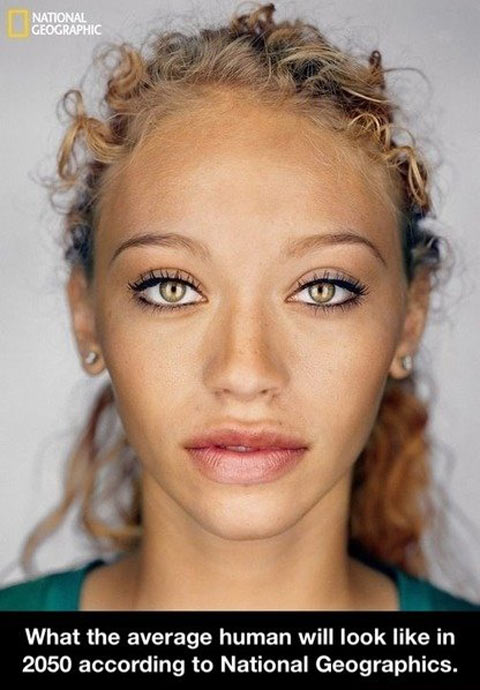 What we all will look like in 2050…