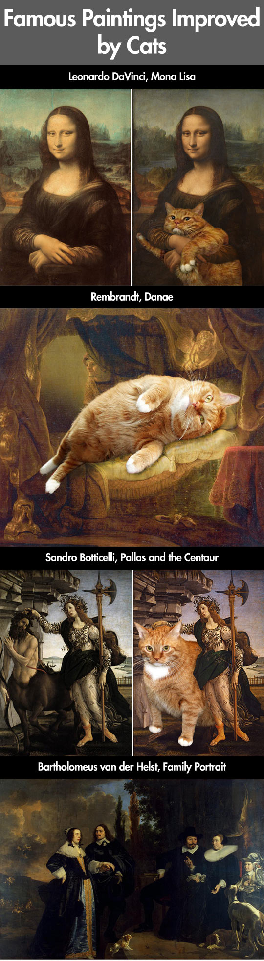 Paintings Improved by Cats...