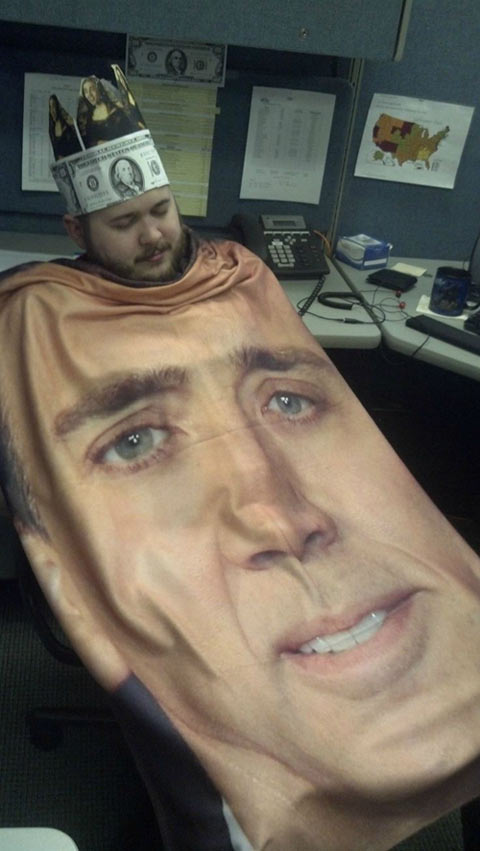 Someone buy me this blanket…