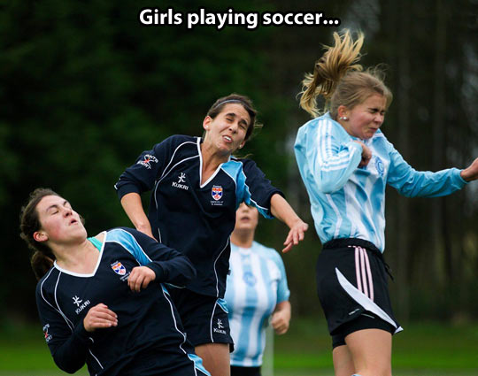 The beauty of soccer…