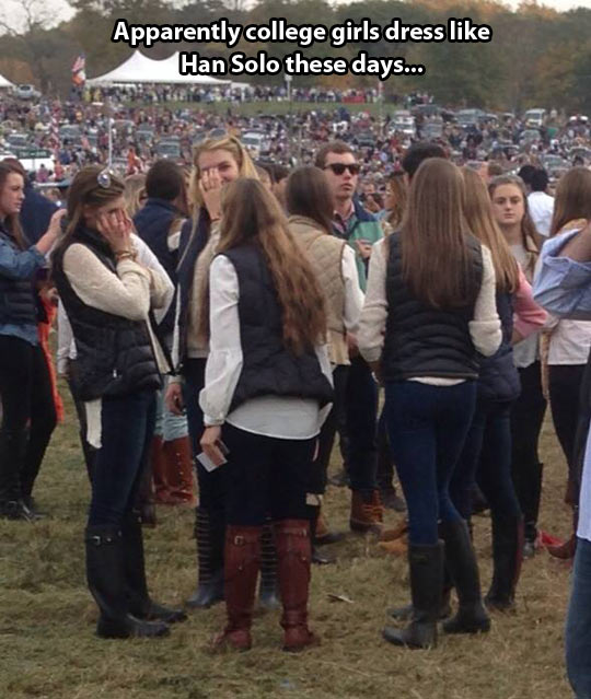 Han Solo's style…
