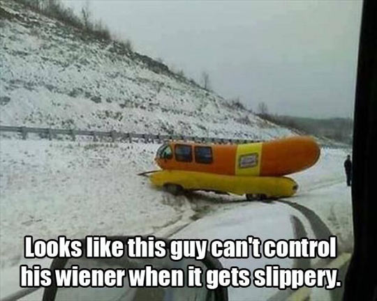 Wiener out of control…
