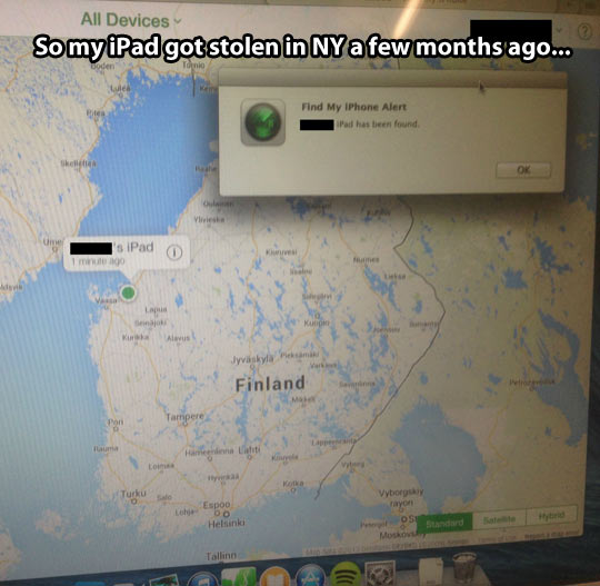 Looking for my iPad…