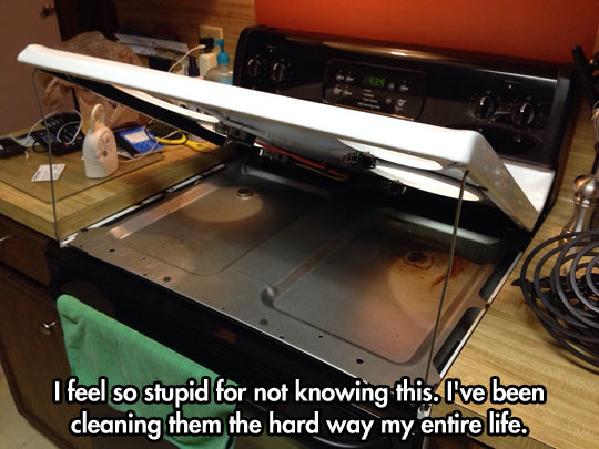 I was cleaning it wrong all my life…