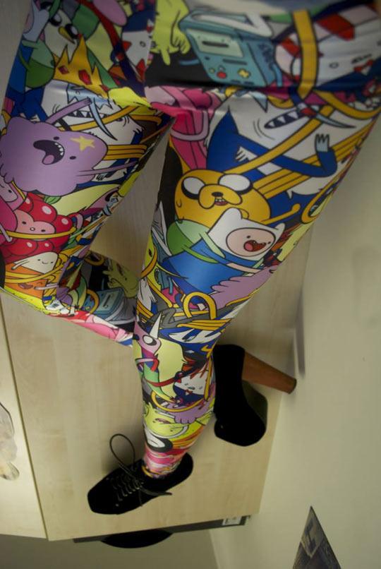 Adventure Time leggings…