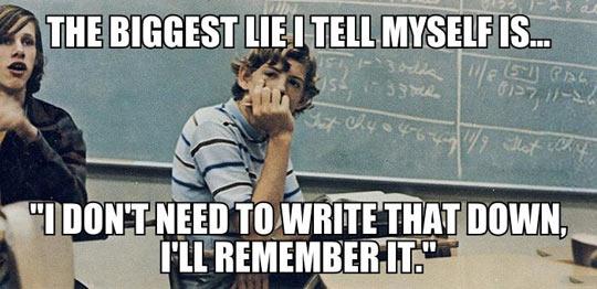 First World School Problems…