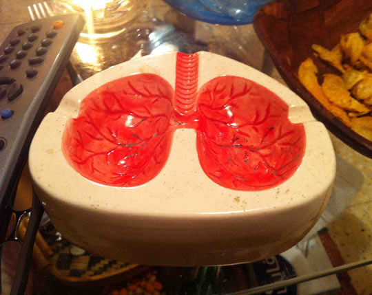 The best ashtray…