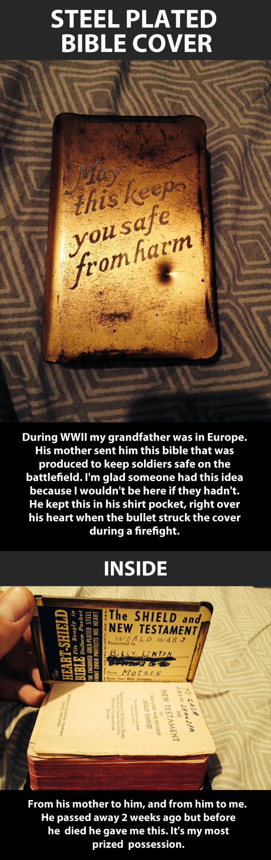 World War 2 life saver…