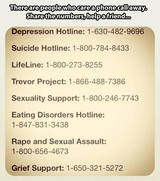 Help a friend…